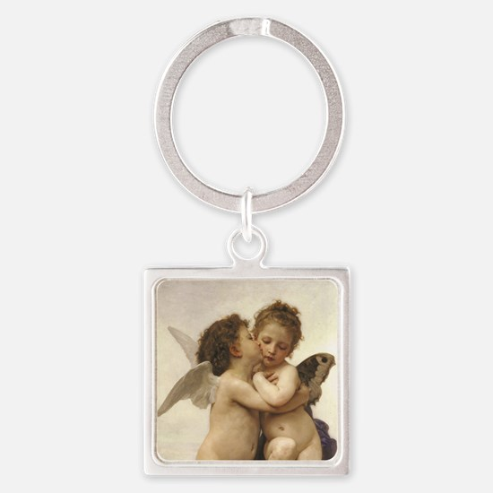 Exquisite First Kiss Angels Keychains