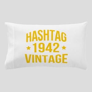 Hashtag 1942 Vintage Pillow Case