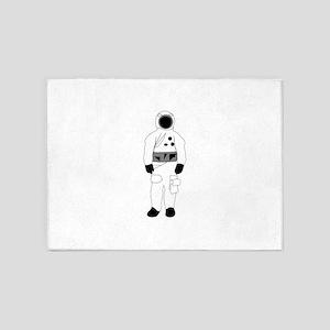 Astronaut Suit 5'x7'Area Rug