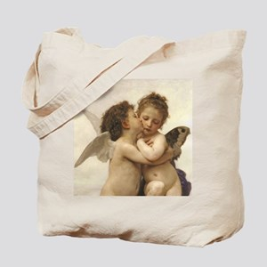 Exquisite First Kiss Angels Tote Bag