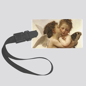 Exquisite First Kiss Angels Luggage Tag