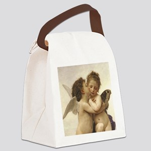 Exquisite First Kiss Angels Canvas Lunch Bag