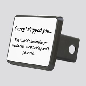 Sorry I slapped you... Rectangular Hitch Cover