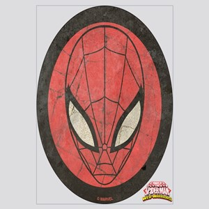 Spider-Girl Icon Vintage Wall Art