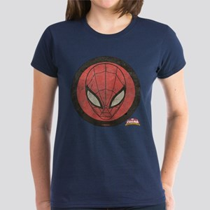 Spider-Girl Icon Vintage Women's Dark T-Shirt