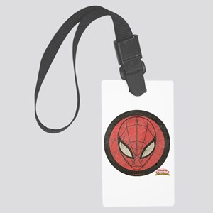 Spider-Girl Icon Vintage Large Luggage Tag