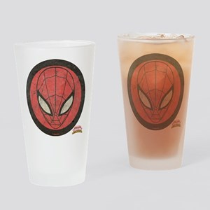 Spider-Girl Icon Vintage Drinking Glass