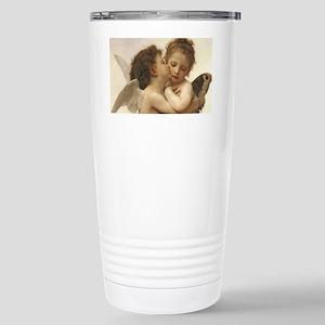 Exquisite First Kiss Angels Travel Mug