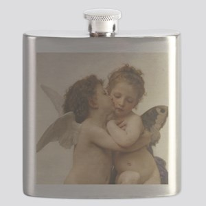 Exquisite First Kiss Angels Flask