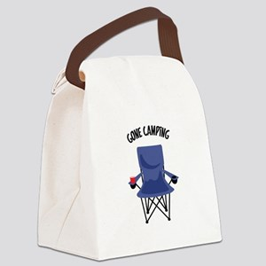 Gone Camping Canvas Lunch Bag