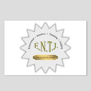 ENTJ Postcards (Package of 8)