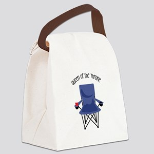 Queen Of The Throne Canvas Lunch Bag