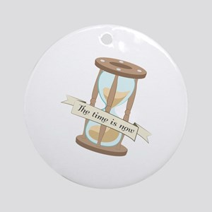 Time Is Now Ornament (Round)