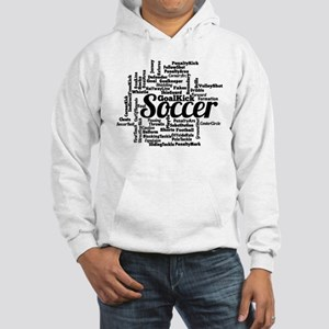 Soccer Word Cloud Hoodie