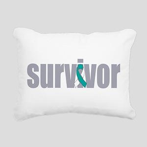 Survivor Rectangular Canvas Pillow