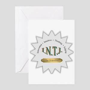 INTJ Greeting Card
