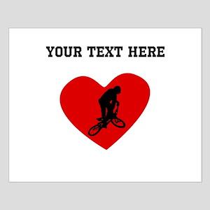 BMX Biker Heart (Custom) Posters