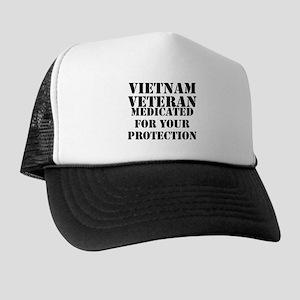 Vietnam Veteran Medicated For Your Pro Trucker Hat