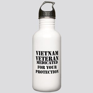 Vietnam Veteran Medica Stainless Water Bottle 1.0L