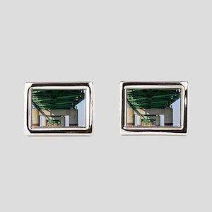 Mackinac Bridge Rectangular Cufflinks