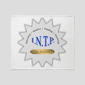 INTP Throw Blanket