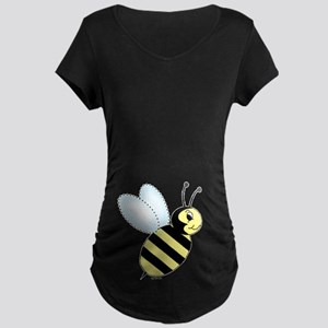 Bumblebee Maternity Dark T-Shirt