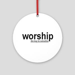worship Ornament (Round)