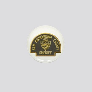 San Bernardino Sheriff Mini Button