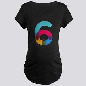 The Number 6 Maternity T-Shirt