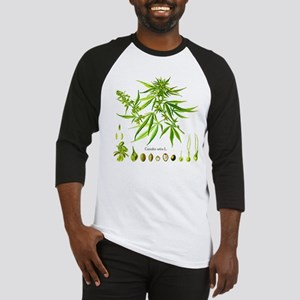 Cannabis Sativa L. Baseball Jersey