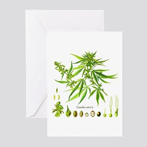 Cannabis Sativa L. Greeting Cards (Pk of 10)