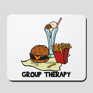 Food Group Therapy Mousepad