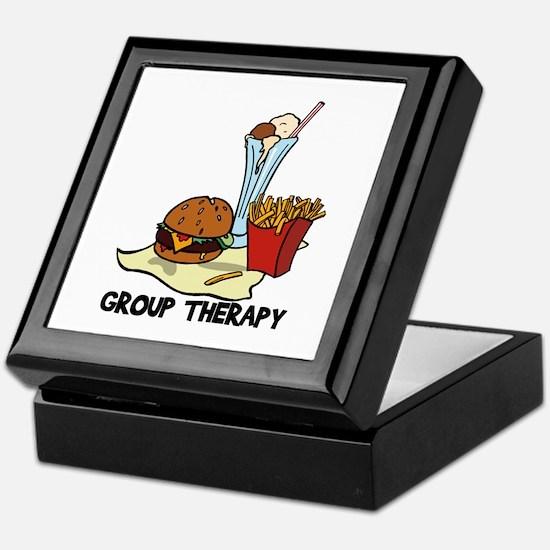 Food Group Therapy Keepsake Box