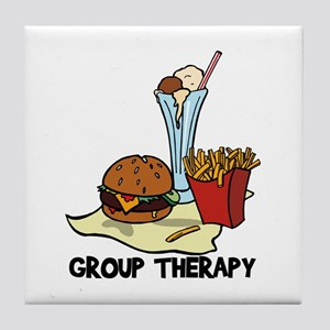 Food Group Therapy Tile Coaster