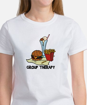 Food Group Therapy Women's T-Shirt