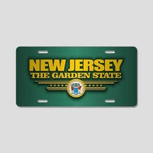 New Jersey (v15) Aluminum License Plate