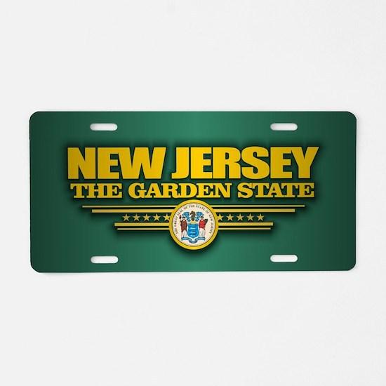 New Jersey (v15) Aluminum License Plate