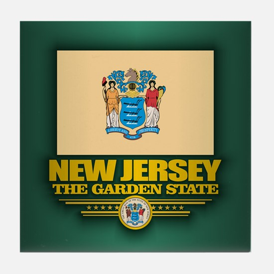 New Jersey (v15) Tile Coaster
