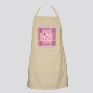 Pink Tribute to Breast Cancer Survivors Patc Apron