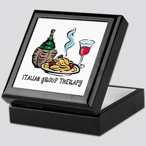 Italian Group Therapy Keepsake Box