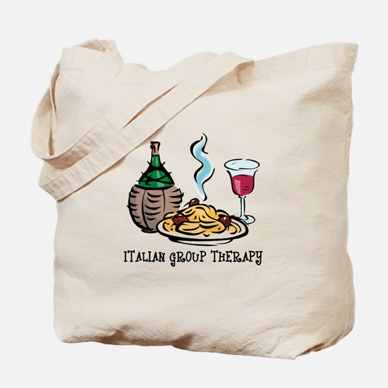 Italian Group Therapy Tote Bag