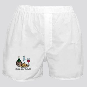 Italian Group Therapy Boxer Shorts