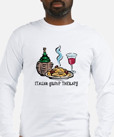 Italian Group Therapy Long Sleeve T-Shirt
