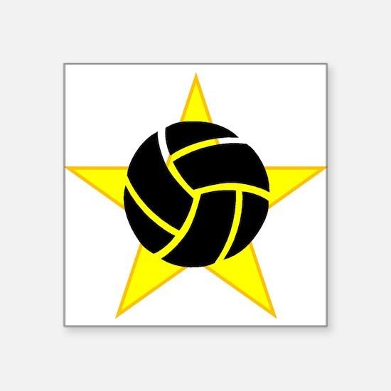 Volleyball Star Sticker