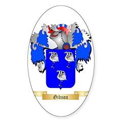 Gibson Sticker (Oval)