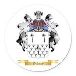 Gibney Round Car Magnet
