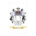 Gibney Sticker (Rectangle 10 pk)