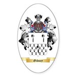 Gibney Sticker (Oval 10 pk)