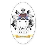 Gibney Sticker (Oval 50 pk)