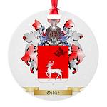 Gibke Round Ornament